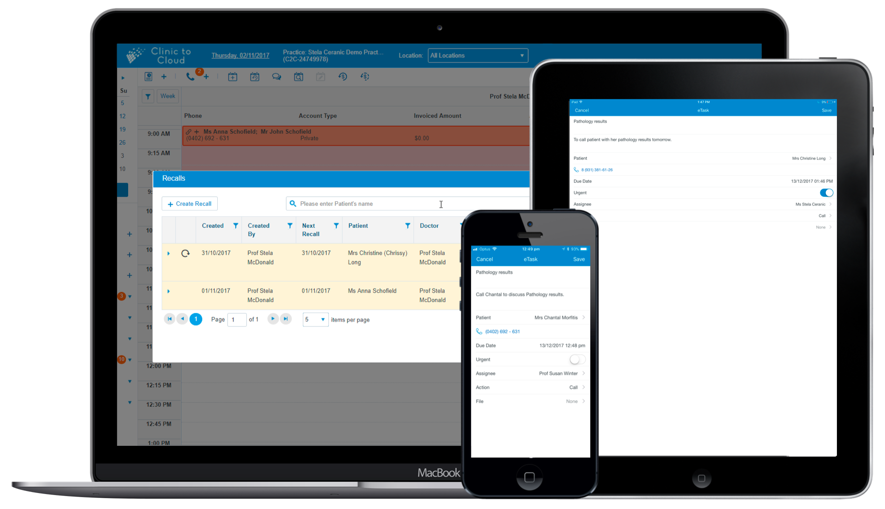 Simplify patient recall reminders using automation