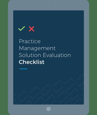 Practice Management Software Evaluation Checklist