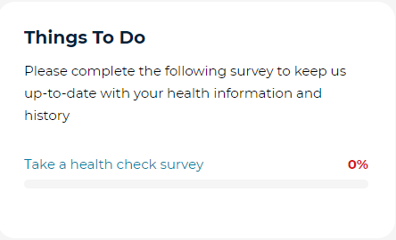 Survey incomple