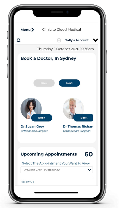 clinic to cloud patient portal